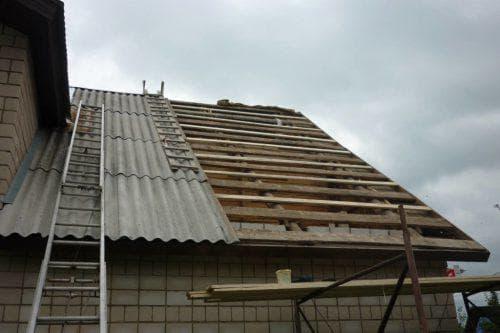 шифер для крыши