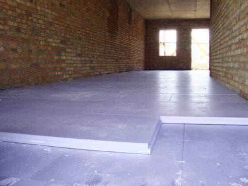 экструдированный пенополистирол для пола по бетону