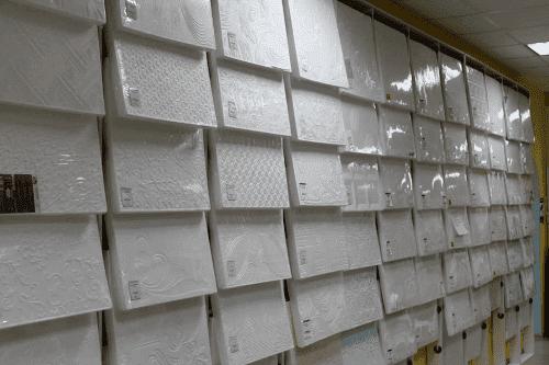экструдированная потолочная плита из пенополистирола
