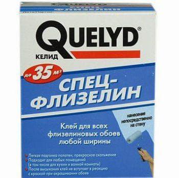 клей для виниловых обоев на флизелиновой основе Quelyd