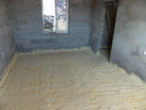 жидкий утеплитель для утепления бетонного пола