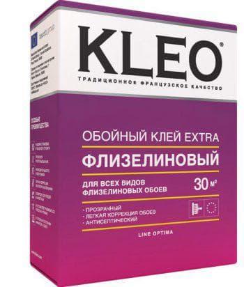клей для виниловых обоев на флизелиновой основе Kleo