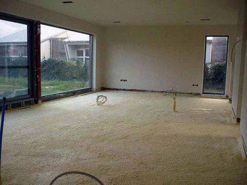напыляемые утеплители для утепления бетонного пола