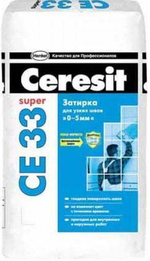 затирка церезит се 33 т