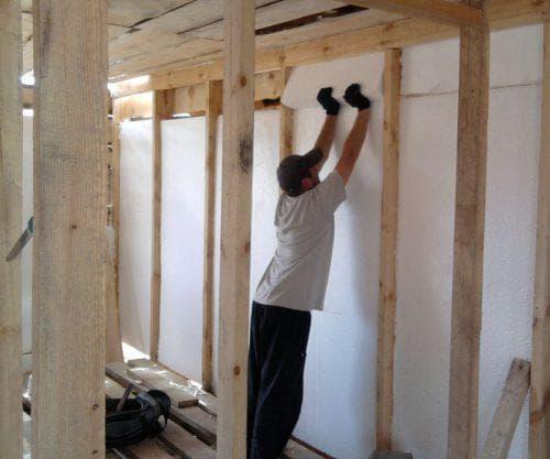пенопласт для внутренних стен