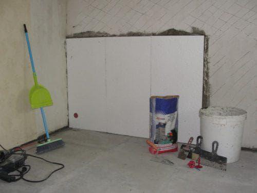 пенопласт для теплоизоляции стен изнутри