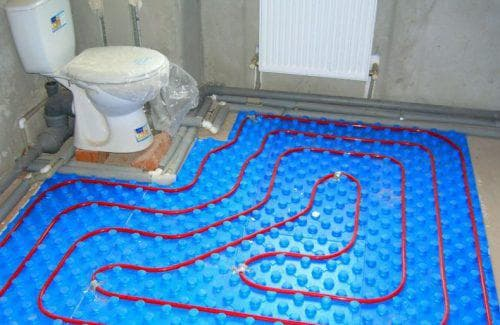 утеплитель полипропилен для теплого водяного пола