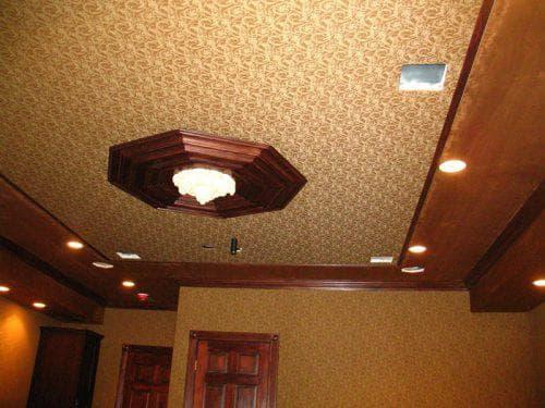 натяжные тканевые потолки