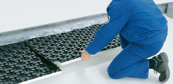 утеплитель Пенополистирол для теплого водяного пола