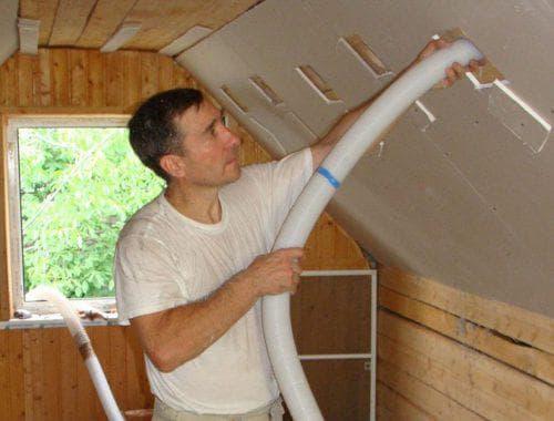 эковата для теплоизоляции стен изнутри