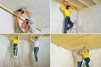 виды утеплителя для потолка