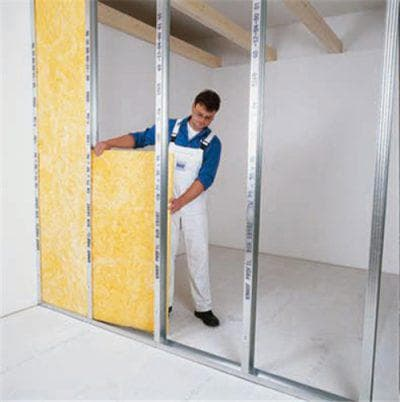 материал Кнауф для утепления стен изнутри