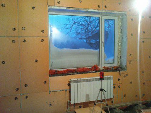 пеноплекс для утепления стен изнутри