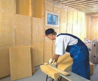 теплоизоляция деревянных стен