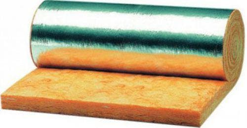 фольгированная минвата