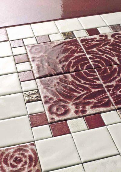 керамическая глазурованная плитка двойного обжига
