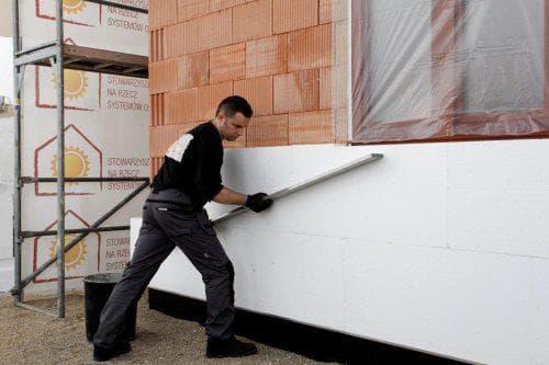 пенополистирол для наружных стен