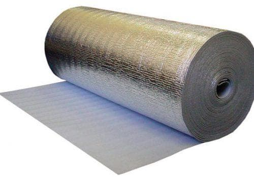 фольгированная подложка под ламинат как паро- и влагоизоляция