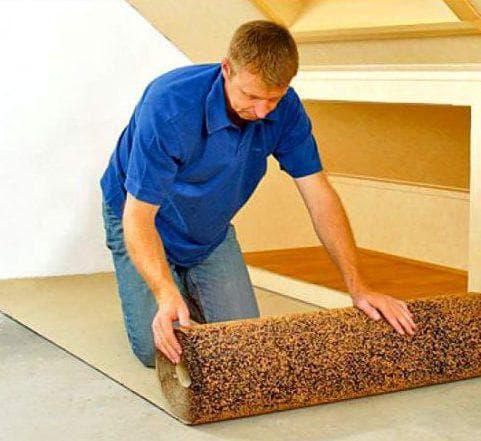 подложка из пробки под линолеум на деревянный пол