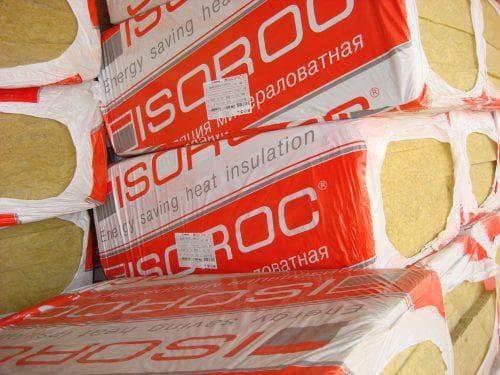 теплоизоляция для утепления наружных стен Isoroc