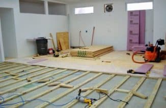 подложка под линолеум на деревянный пол цена