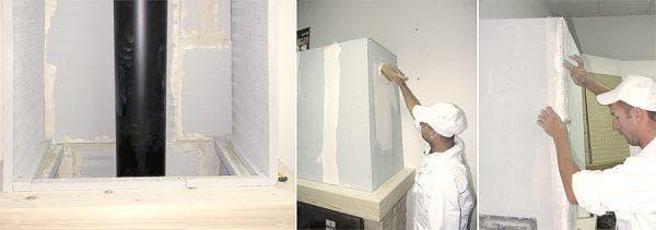 листы суперизола для изоляции стен