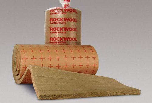 утеплитель потолка с помощью утеплителя Роквул