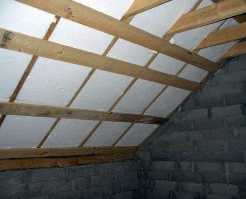 пенопластовые утеплители для крыши