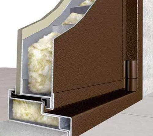 утеплитель минвата для дверей