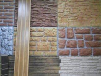 стеновые фасадные панели под камень