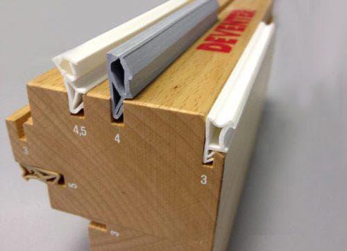 уплотнитель из резины для деревянных дверей
