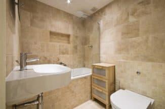 мраморная плитка для ванны