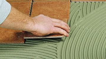 состав плиточного клея