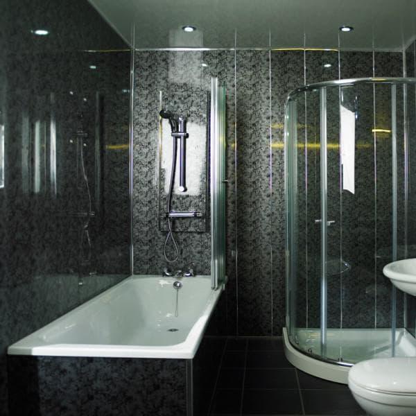 стеновые панели из пвх для ванной мрамор