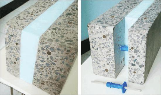 конструкционно - теплоизоляционный панели