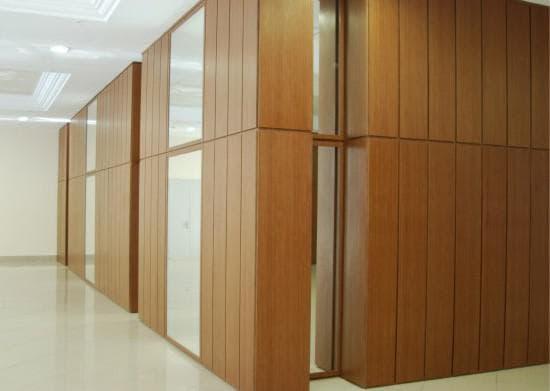 шпонированные стеновые панели МДФ для общежитий