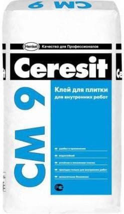 клей Ceresit для плитки
