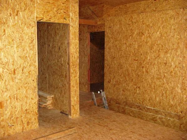 фанера осби 2 для отделки внутри дома