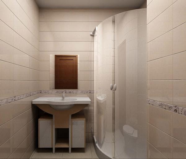 Стеклянные панели для ванной комнаты