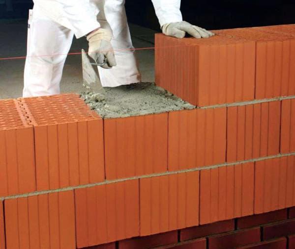 керамический кирпич для кладки стен