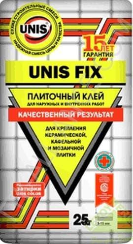 клей плиточный Unis Fix