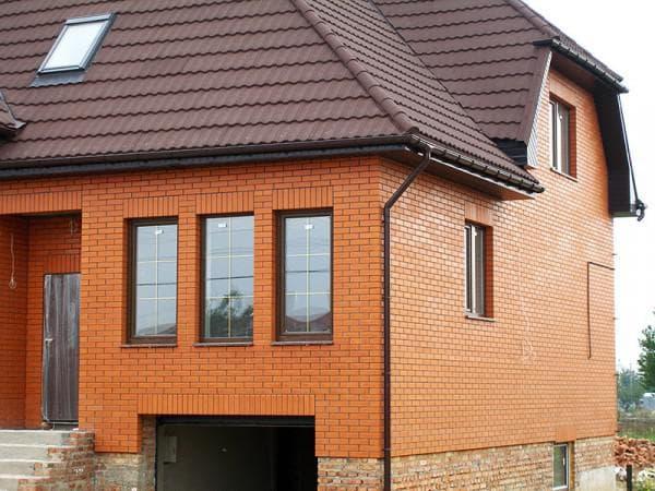 облицовочный полуторный кирпич для отделки фасада