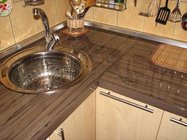 габариты столешницы для кухни из дсп