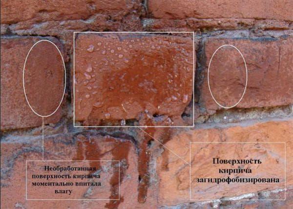 гидрофобизатор для бетона при поверхностном использовании