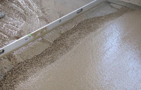 песчано-щебневая стяжка