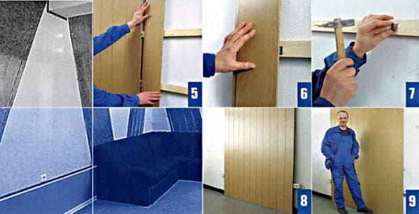 размеры стеновых панелей пвх-каркас