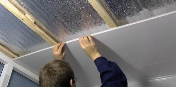 деревянная обрешетка для панелей ПВХ