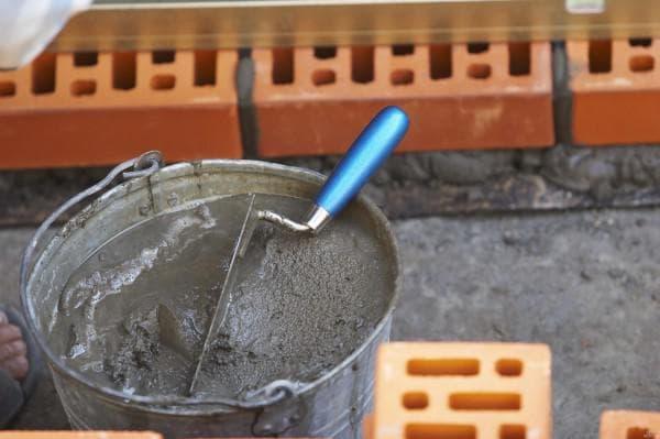 цементно песчаная смесь для кладки стены