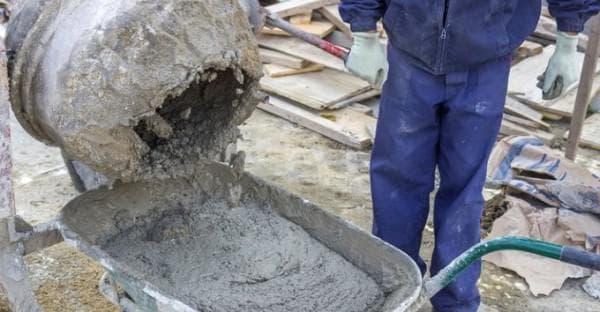 приготовление бетона для строительства
