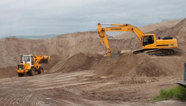 карьерный песок для строительства